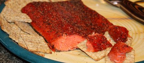 Smoked sockeye salmon recipes