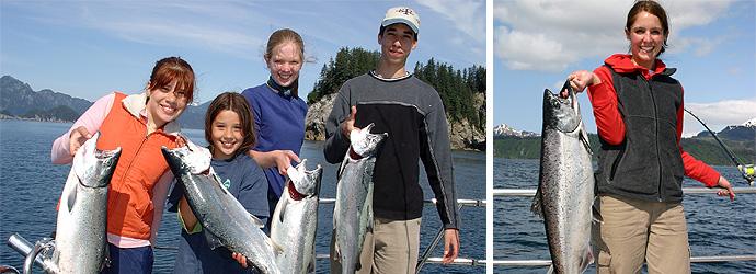 Seward Alaska Salmon Fishing Seward Salmon Fishing